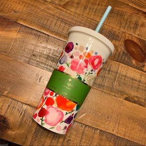 NEW 🔥 Kate Spade Floral Tumbler